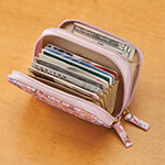 Handbags & Wallets - Buxton RFID Floral Accordion Wallet