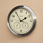 Accent Furniture - Big Ben Classic Metal Indoor/Outdoor Wall Clock
