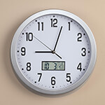 "New - Easy-Read 12"" Multifunction Wall Clock"