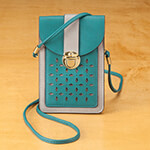 Handbags & Wallets - Urban Energy™ Cross Body Laser Cut Pattern Bag