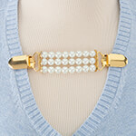 New - Pearl Sweater Clip