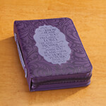 New - Purple Bible Cover Jeremiah 29:11