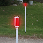 New - Solar Driveway Markers, Set of 2