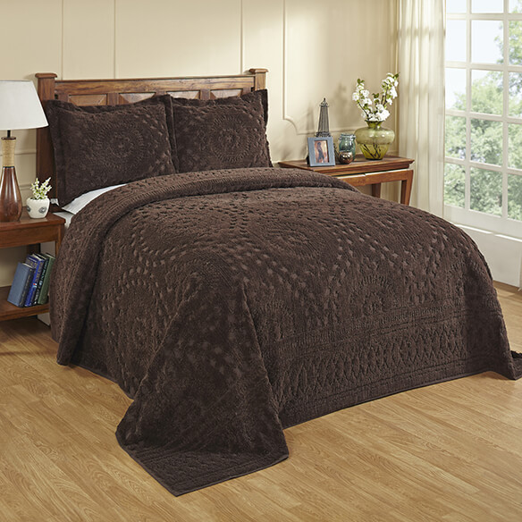 twin chenille bedspread chenille bedding chocolate cotton bedding walter 2989