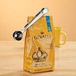 New - Stainless Steel Coffee Measure with Clip