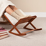 Accent Furniture - Deluxe Foldable Rocking Footrest