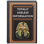 "Father's Day - ""Totally Useless Information"" Book"