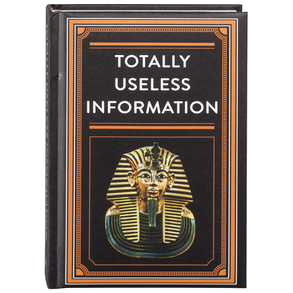 """Totally Useless Information"" Book"