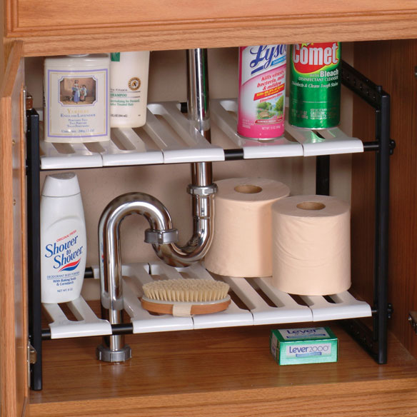 under the bathroom sink organizer sink expandable shelf the sink storage 24454