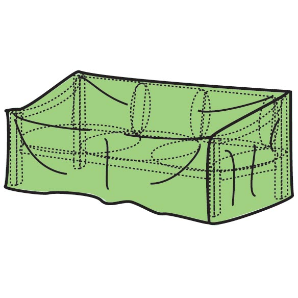 "Patio Glider Cover - 78""L x 33""H x 37""W - View 2"