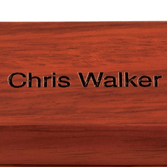 Personalized Rosewood Case - Double - View 2
