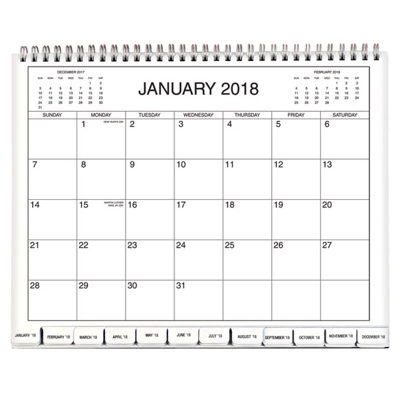 3 Year Monthly Appointment Calendar - View 2