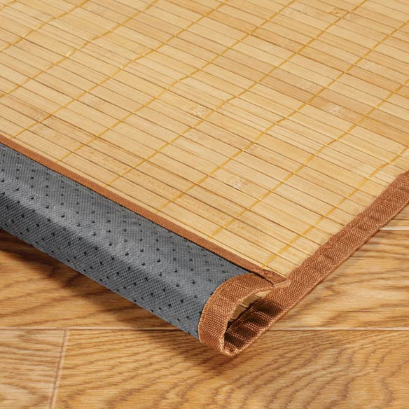 "Bamboo Floor Mat - 24"" x 72"" - View 2"