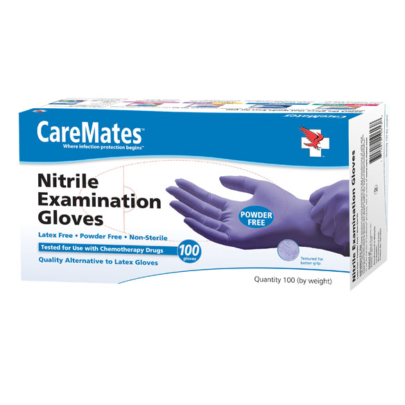 Nitrile Exam Gloves - View 2