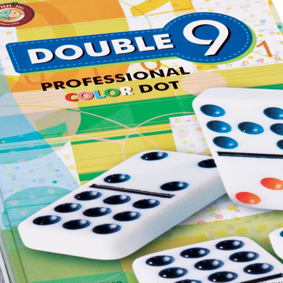 Double Nine Domino Set - View 2