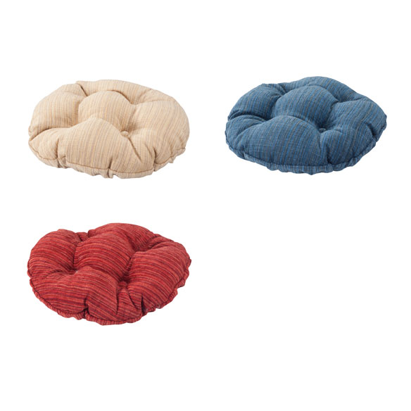 Chenille Round Bar Stool Cushion - View 4