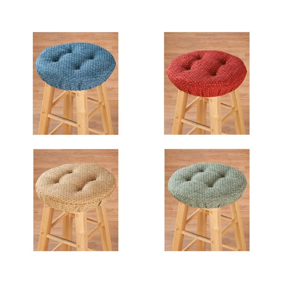 Raindrop Bar Stool Cushions - View 3