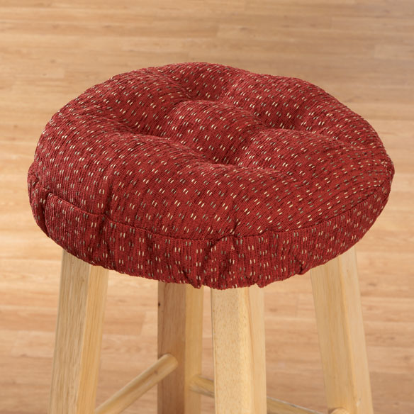 Raindrop Bar Stool Cushions View 4