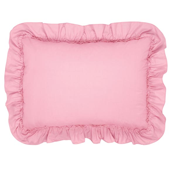 Ruffled Pillow Sham - View 2