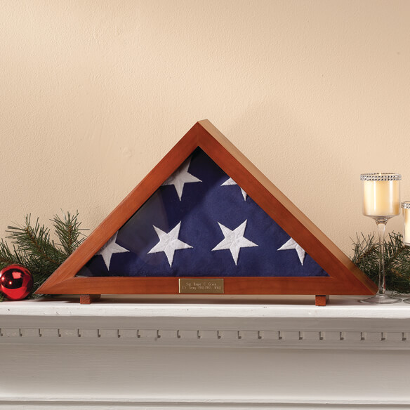 Veteran's Flag Display Case - View 2