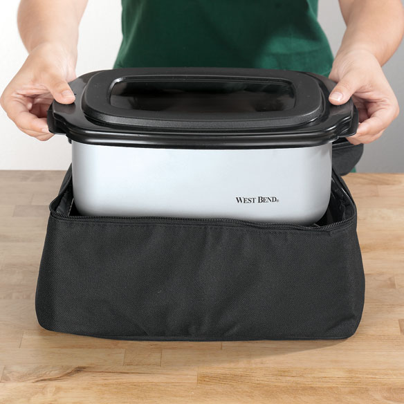 West Bend® Cook & Tote™ - Stainless - View 2