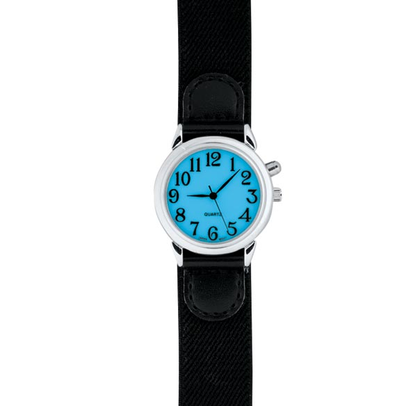 Lite Up Self Fastening Watch - View 3