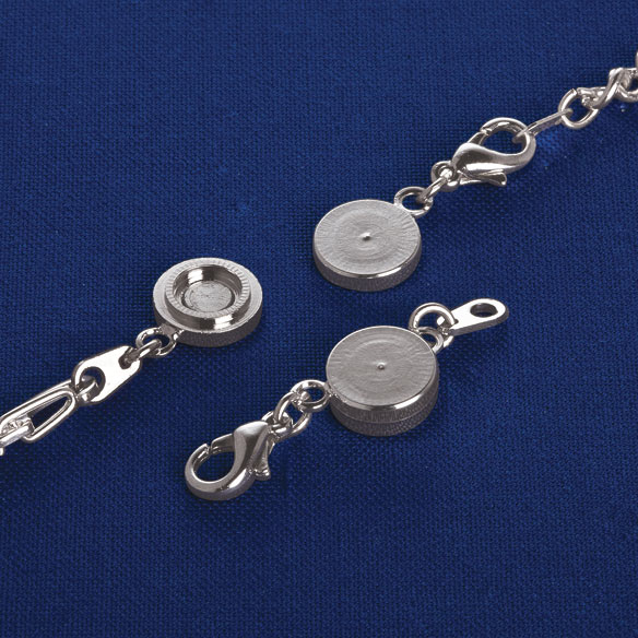Locking Magnetic Jewelry Clasps - Set Of 4 - View 2