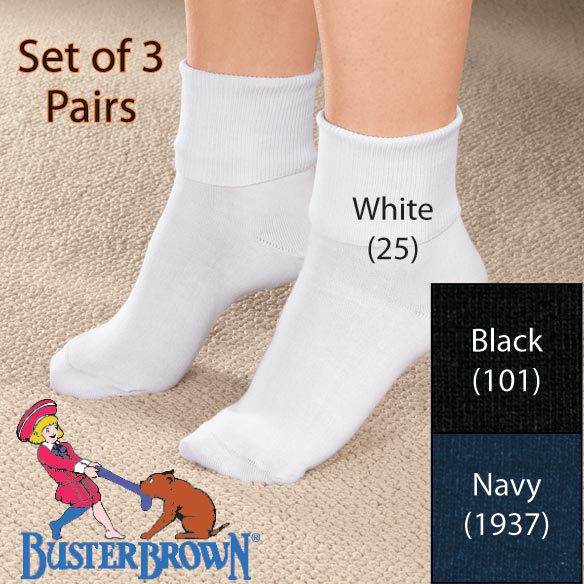 Buster Brown® Ankle Socks - View 2