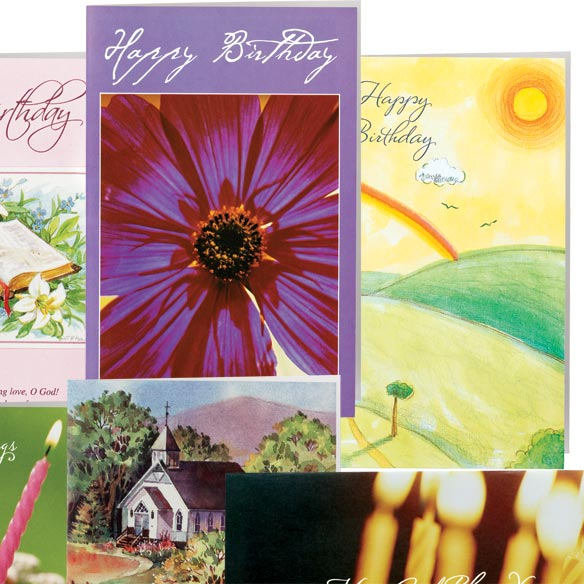 Christian Birthday Cards - Set Of 24 - View 3