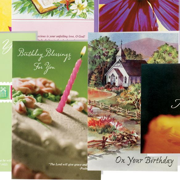 Christian Birthday Cards - Set Of 24 - View 4