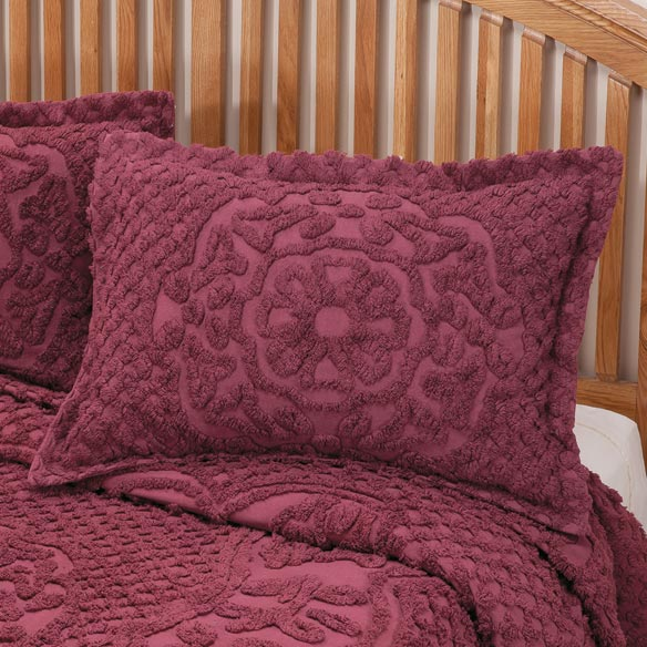 Martha Chenille Sham by OakRidge™ Comforts - View 3