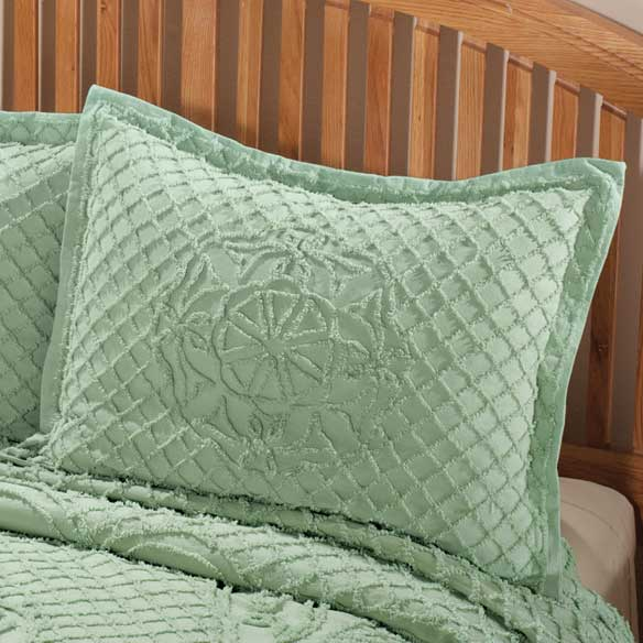 Martha Chenille Sham by OakRidge™ Comforts - View 4