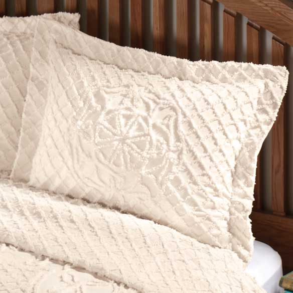 Martha Chenille Sham by OakRidge™ Comforts - View 5