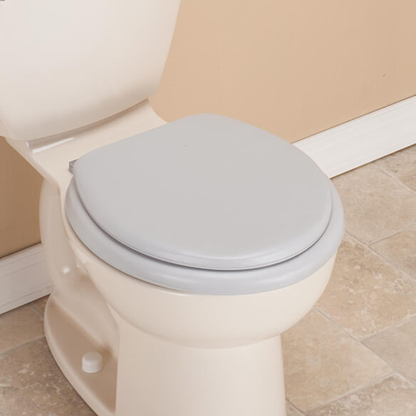 Padded Toilet Seat And Lid - View 2