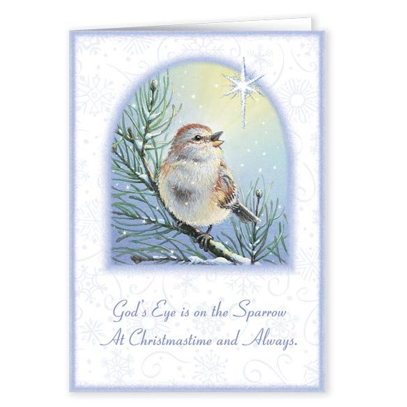 God's Sparrow Christmas Card Set of 20 - View 2