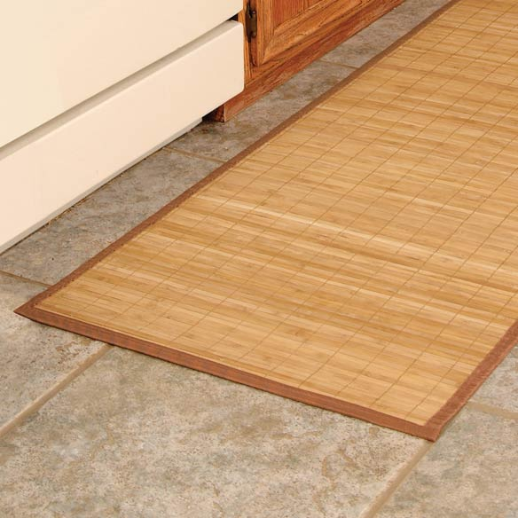 Natural Bamboo Island Mat - 24 x 30 - View 3