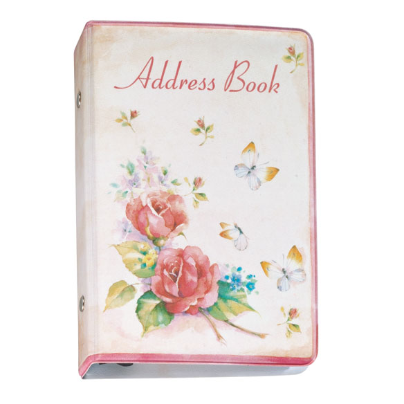 Roses Address Book - View 2