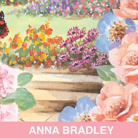 Personalized Butterfly Garden 2 Year Pocket Planner - View 2