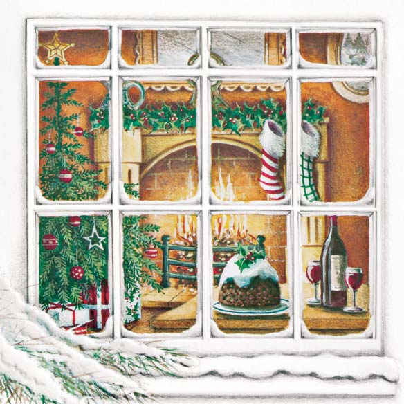 Treasured Friends Christmas Card Set of 20 - View 4