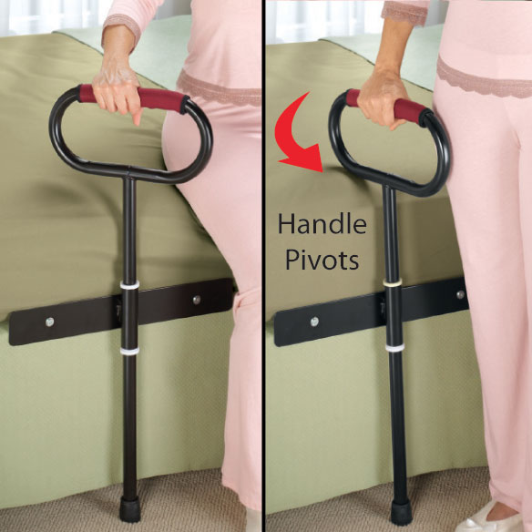 Cushioned Bedside Support Rail - View 2