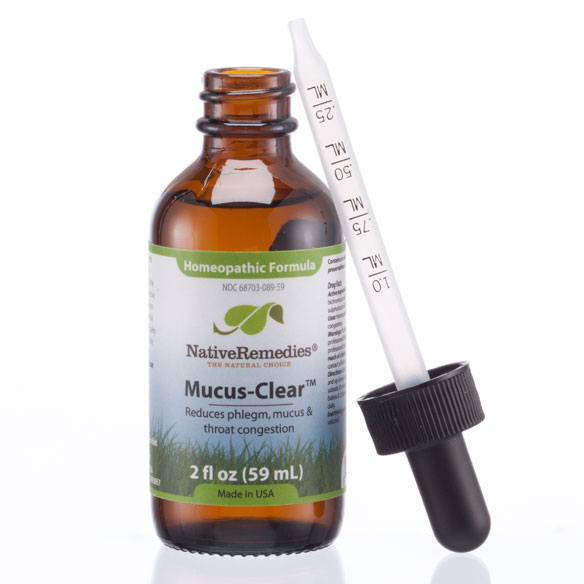 NativeRemedies® Mucus-Clear™ - 2 oz. - View 3