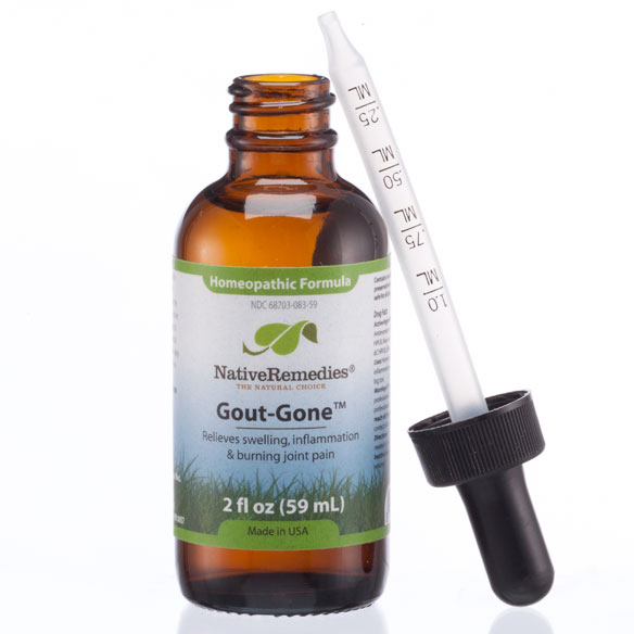 NativeRemedies® GoutGone™ - 2 oz. - View 3