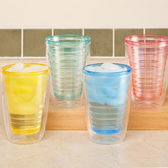 Double Cones Dryers Tumblers ~ Insulated tumblers set of walter