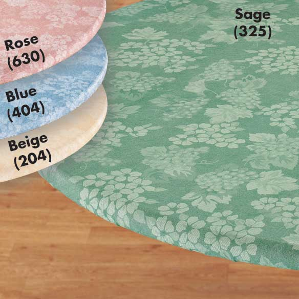 Grapes Elasticized Table Cover - View 2