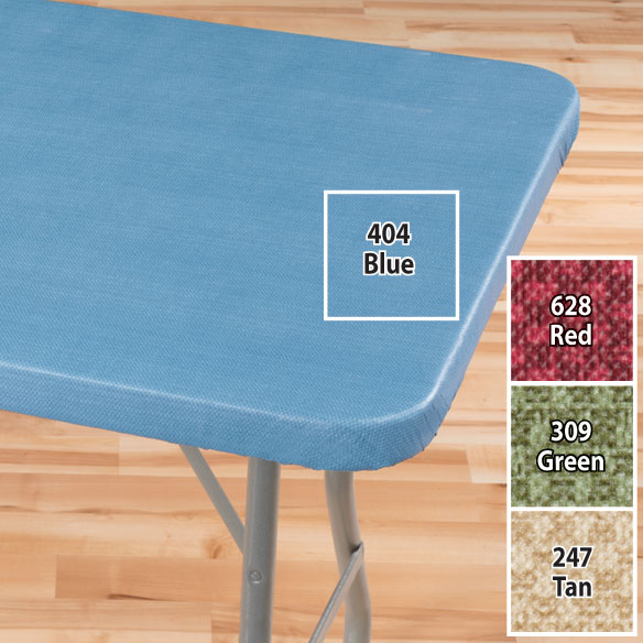 Classic Weave Elasticized Banquet Table Cover - View 5