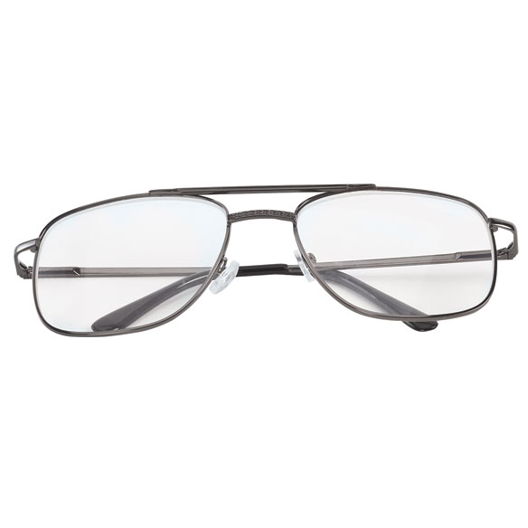 Spring Hinge Pilot Reading Glasses - 3 Pack - View 4