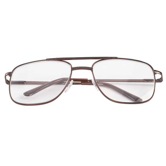 Spring Hinge Pilot Reading Glasses - 3 Pack - View 5