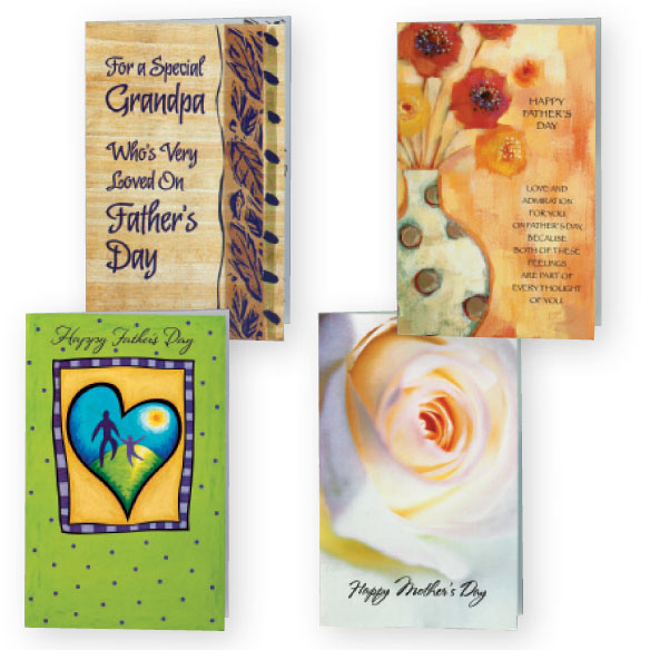 Mother's and Father's Day Cards Value Pack of 12 - View 2