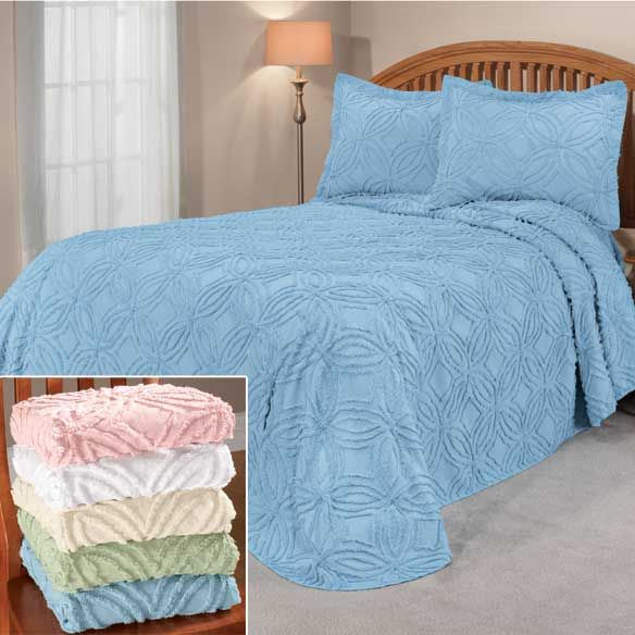 The Eliza Chenille Bedspread by OakRidge™ Comforts - View 2
