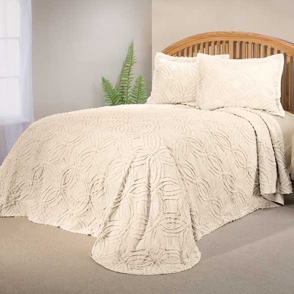 The Eliza Chenille Bedspread by OakRidge™ Comforts - View 3